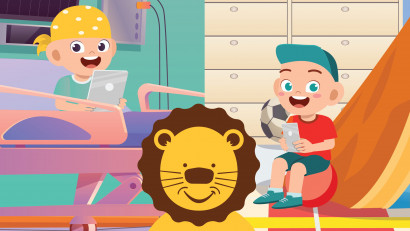 Chatbot-ul Leului Curajos,un agent conversațional artificial pentru copiii bolnavi de cancer