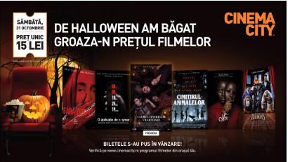 Trăiește Halloween-ul la Cinema City. 6 filme de neratat pe marile ecrane