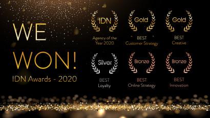 Create Direct câștigă premiul Agenția anului 2020, Best Creative, aur, argint și bronz pentru soluțiile sale de Loyalty & Rewards