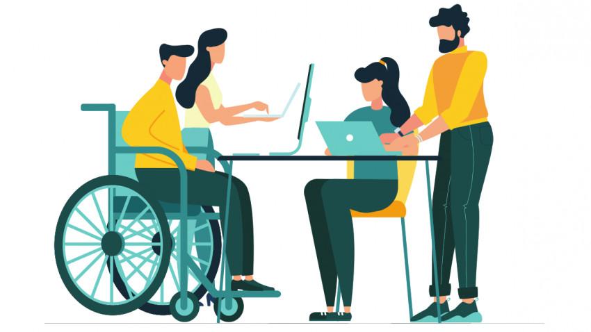 face bani pentru o persoană cu dizabilități opțiune de breakout