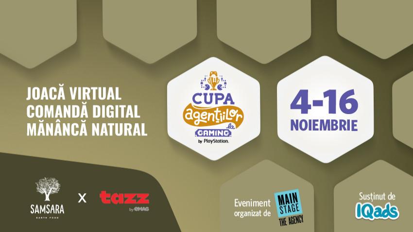 SAMSARA & Tazz by eMAG hranesc spiritul competitiv la Cupa Agentiilor la Gaming, Editia FIFA 21