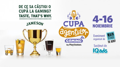 JAMESON te cheama sa gusti competitia adevarata la Cupa Agentiilor la Gaming, Editia FIFA 21