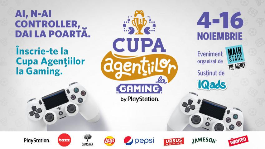 Cupa Agentiilor la Gaming by PlayStation, editia FIFA 21. Cautam suflete de fotbalisti ascunse in haine de creativi