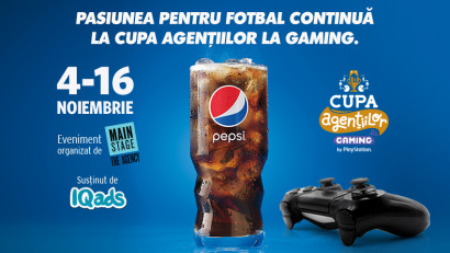 Pepsi cauta pasiunea la Cupa Agentiilor la Gaming, Editia FIFA 21