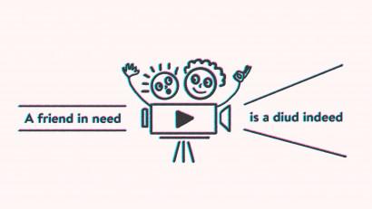 [A friend in need is a Diud indeed] – Proiectul Diud Social sau cum să îi ajuți pe ceilalți prin content video
