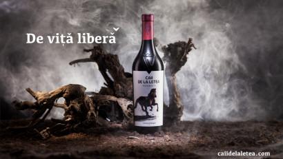 Caii de la Letea - Eticheta