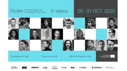 Rezidența FILM+ online:cinci zile de ateliere și sesiuni de lucru cu cineaști români de prestigiu