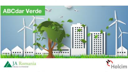 ABCdar Verde - proiect pilot realizat în parteneriat de Junior Achievement și Holcim România, dedicat responsabilității față de mediu