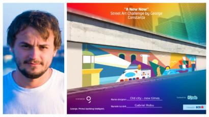 [Street Art Challenge] Gabriel Robu: Puterea reprezentativă a street art-ului poate fi asemenea unui monument de arhitectură într-un oraș