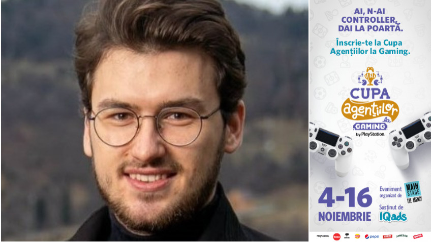[Cupa Agentiilor la Gaming] Cosmin Sipoș: Pe lângă distracția propriu-zisă, mi-am dat seama că jocurile video sunt foarte utile în a-ți antrena stările