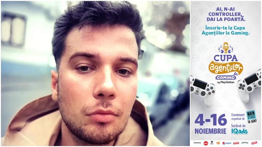 [Cupa Agentiilor la Gaming] Victor Voicu: Mă aștept să fie fun și să mă distrez indiferent de rezultate