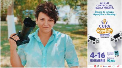 [Cupa Agentiilor la Gaming] Sabina Ghiormescu: Cand a aparut moda Internet Café-urilor, îl rugam pe tata sa ma duca sa ma joc FIFA 98 si NFS