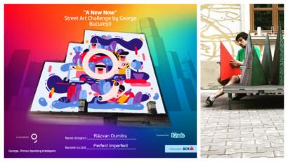 [Street Art Challenge] Razvan Dumitru: Oricat de complicat si imprevizibil ne este viitorul, in aceasta perioada de incercare ne-am intors cu totii catre oras