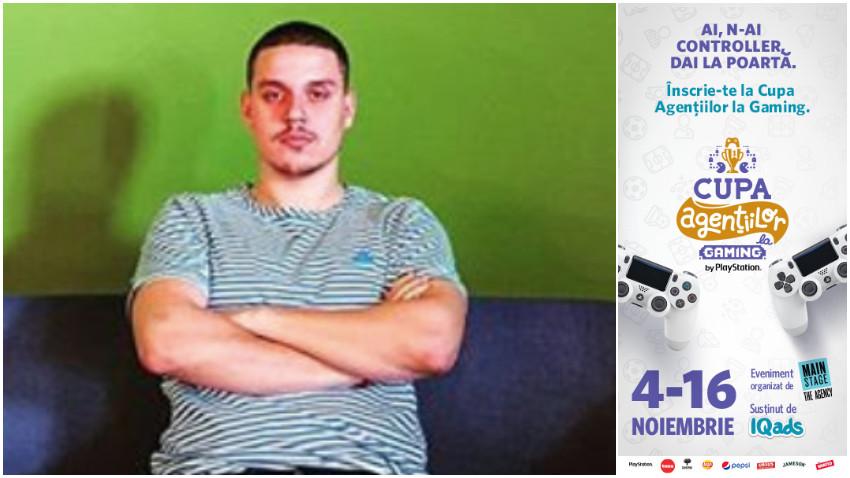 [Cupa Agentiilor la Gaming] Alexandru Apostoiu: Jocurile video sunt oaza mea de relaxare dupa o zi extenuanta la birou