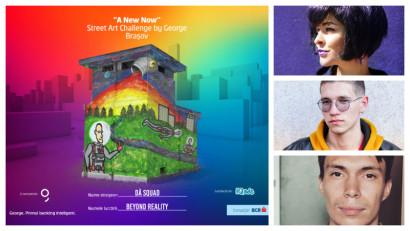 [Street Art Challenge] Dă Squad: Arta stradală conectează oamenii, îi face să se gândească, să viseze și poate chiar să își schimbe viața