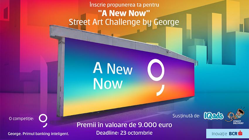 "Premii noi la ""A New Now"" Street Art Challenge by George"