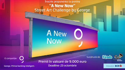 "Imagineaza-ti Noul Oras la ""A New Now"" Street Art Challenge by George"
