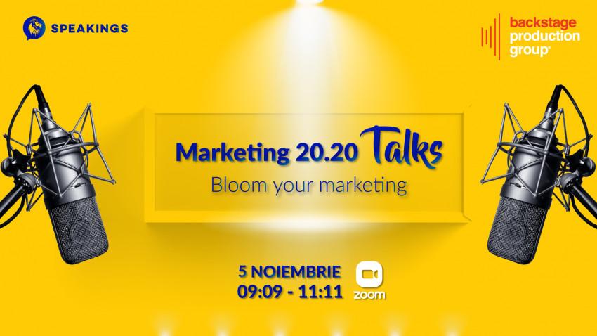 Marketing 20.20 Talks. Bloom your Marketing