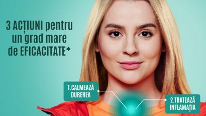 Zentiva România dă tonul cu OROcalmin, un produs pentru tratamentul durerii în gât