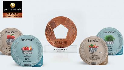 BroHouse premiată cu bronz la Pentawards, pentru designul de ambalaj al produselor SanoVita