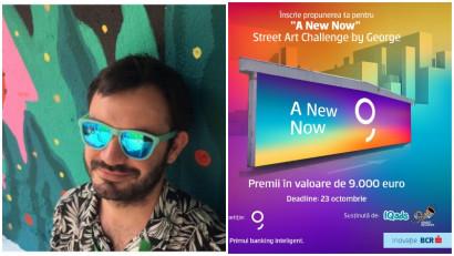 [Street Art Challenge] Cristian Neagoe: E important ca brandurile care cred în comunitate să ofere posibilitatea de a crea artă publică, gratuită, de care oricine poate să se bucure