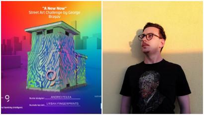 [Street Art Challenge] Andrei Felea: M-am folosit de motivul amprentei, conferindu-i o simbolistică contemporană