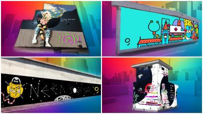 """Culori noi pentru spiritul urban de la castigatorii """"A New Now"""" Street Art Challenge by George"""