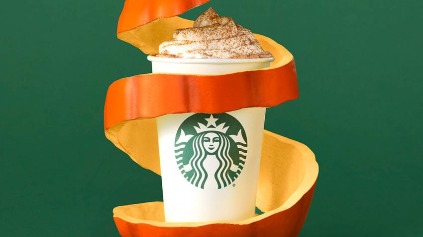 Pumpkin Spice Latte este de astăzi în toate cafenelele Starbucks
