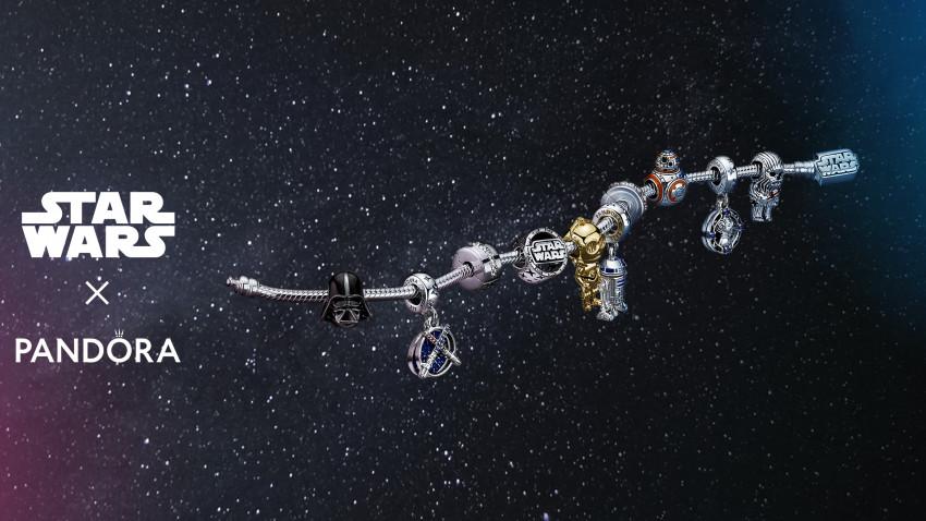 Pandora lansează în galaxia noastă colecția inspirată de Star WarsTM