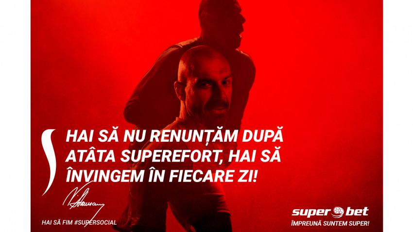 Platforma #supersocial de la Superbet și Rusu+Borțun îi încurajează pe români să câștige meciul cu 2020