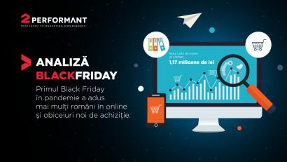 Analiză 2Performant: de Black Friday, românii care au promovat magazinele online au câștigat 1,17 milioane de lei într-o săptămână