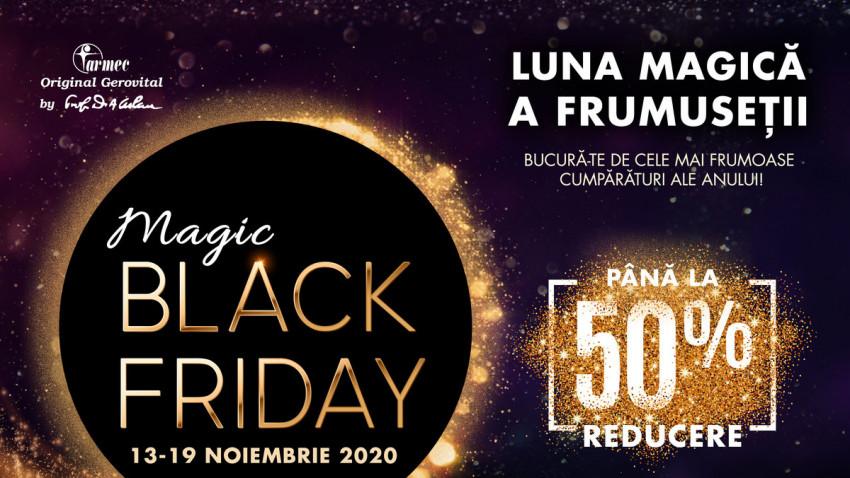 Farmec lansează campania Magic Black Friday în 13 noiembrie