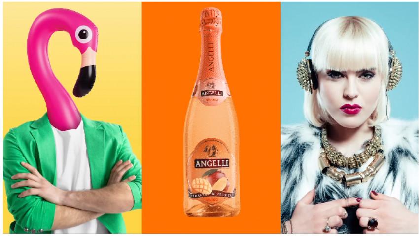 Cocktail-urile Fructate de la Angelli au dat culoare verii.Don't shake it, just drink it!