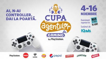 Cupa Agentiilor la Gaming si-a stabilit grupele. Grupele se joaca Miercuri, Joi, Vineri incepand de la 18:30