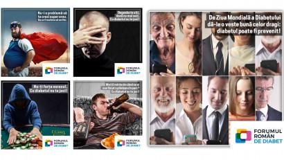 14 noiembrie - Ziua mondială a diabetului. Cu diabetul nu te joci! - o campanie de conștientizare lansată de Forumul Român de Diabet