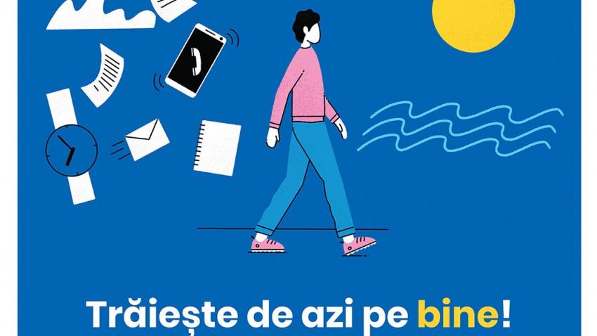 """Parteneriat pentru sănătatea și starea de bine a românilor:NN şi platforma ATLAS lansează campania """"Trăiește de azi pe bine!"""""""