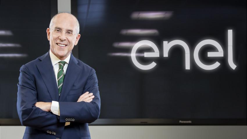 Francesco Starace, CEO Enel, face declarații în cadrul Forumului European al Hidrogenului