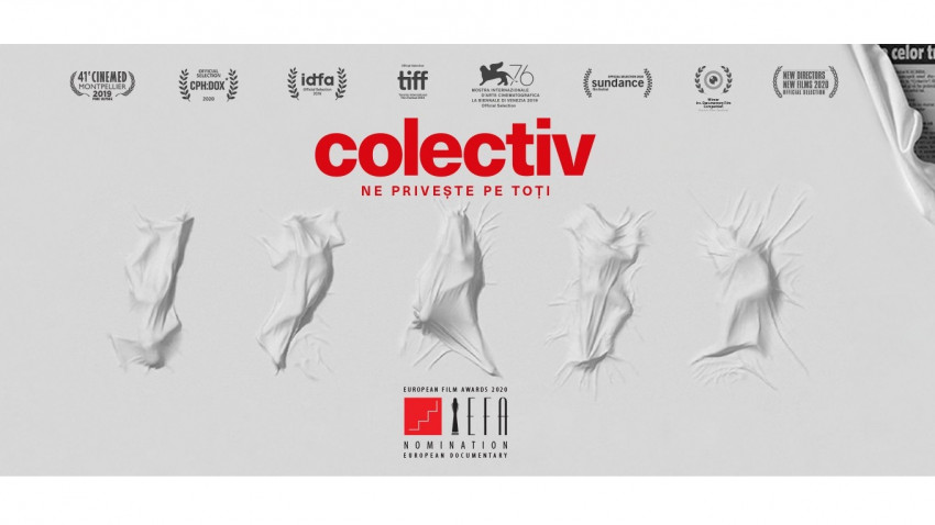"""""""colectiv"""" se lansează astăzi în SUA și Marea Britanie și începe astfel cursa oficială pentru Oscar"""