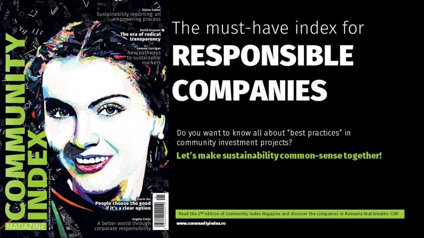 The Azores Sustainability & CSR Services anunță lansarea celeide-a doua ediții a Community Index 2020: radiografia proiectelor corporate de investiții în comunitățile din România