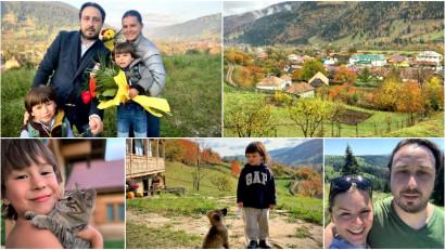 [Viața la țară] Nicoleta și Andrei Manea: De când ne-am mutat la țară am înțeles că poți fi fericit și cu mai puțin