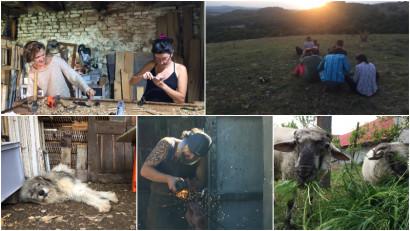 [Viața la țară] Marlene Herberth: Trecem pe rând prin diferite roluri într-o zi – manager de curte, de grădină, de bucătărie, de șantier și de birou