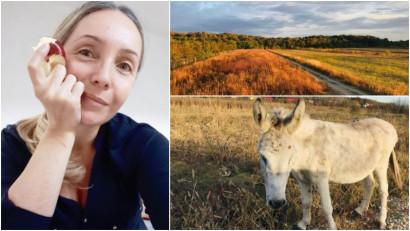 [Viața la țară] Ioana Silistraru: Am lăsat orașul pentru sat fără să știu exact ce înseamnă. Cred că cel mai mult ne bucurăm eu și fiică-mea, care s-a și născut aici