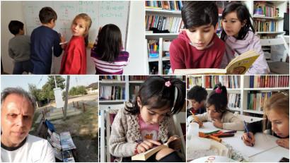 Relu Voicu, omul Cu cărțile pe uliță: Vrem ca acesta să fie începutul unei Revoluții în educație. De pe buza șanțului