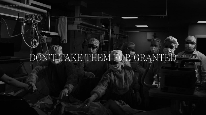 Campania Don't Take Them for Granted câștigă Lucrarea Lunii octombrie în TOP 3 ADC