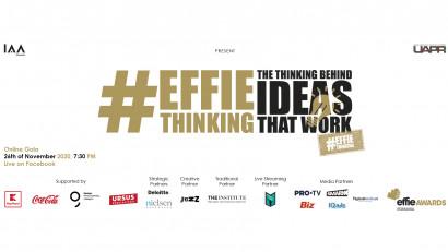 Effie Awards 2020 – Finaliștii competiției.Gala Online Effie Awards România are loc pe 26 noiembrie