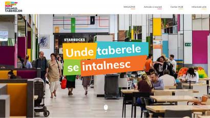 Drumul Taberelor, centru comercial gândit și adaptat nevoilor cartierului Drumul Taberei, are acum un nou look digital realizat de Pattern//MindTreatStudios