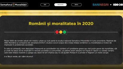 Semaforul Moralității: Românii se consideră cinstiți și sinceri, blamează corupția, dar sunt mai puțin implicați în acțiuni civice