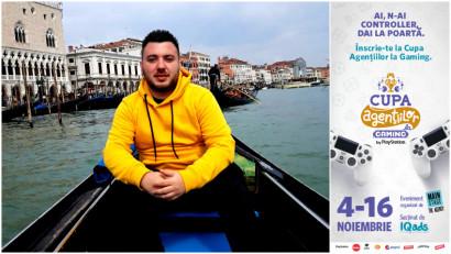 [Cupa Agentiilor la Gaming] Alexandru Buga: Cand am jucat prima data FIFA 21, am avut un soc. Simteam ca era prima oara cand tineam maneta in mana