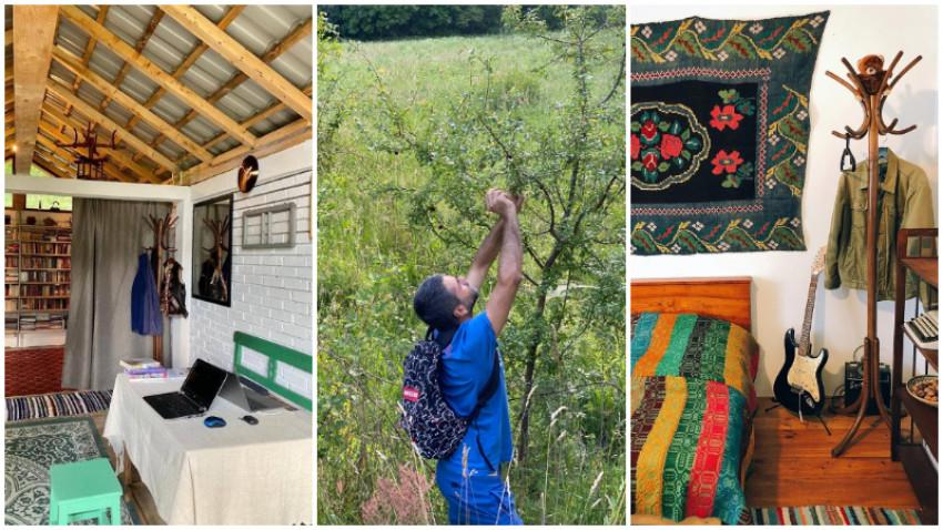 [Viața la țară] Marius Chivu: La țară munca nu se termină niciodată, iar pe lîngă casă mereu e câte ceva de făcut, de reparat, de întreținut