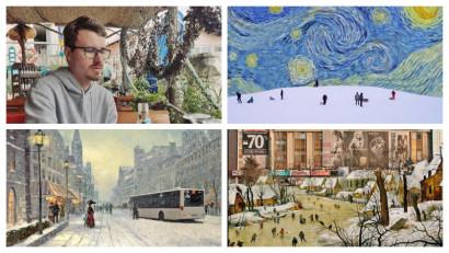 Andrei Dinică (@latifundiar): Eu văd Bucureștiul ca pe cea mai sinceră formă de artă românească, o autosatiră